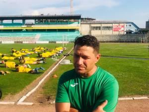 Ionuţ Moşteanu a condus luni primul antrenament la Foresta