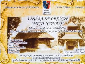 """Expoziția temporară """"Tabăra micii iconari"""" se va deschide joi, la Capela Cetății de Scaun"""
