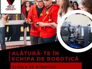 """Școală de robotică - școală de vară, în luna august, la Colegiul Național """"Petru Rareș"""""""