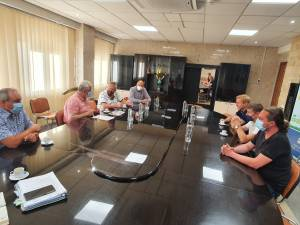 Discuții privind termoficarea Sucevei, purtate de primarul Ion Lungu cu reprezentanții societăților Bioenergy și Thermonet