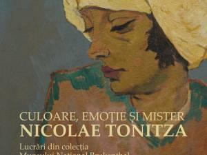"""Expoziția """"Nicolae Tonitza. Culoare, emoție și mister"""", lucrări din colecția Muzeului Național Brukenthal, la Muzeul de Istorie"""
