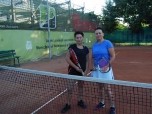 Cici Robciuc şi Alina Popovici Dumbravă au deschis seria de meciuri de ieri