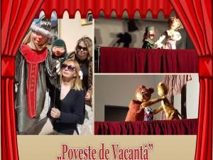 """""""Poveste de Vacanță"""", teatru de păpuși la Biblioteca Bucovinei """"I. G. Sbiera"""""""