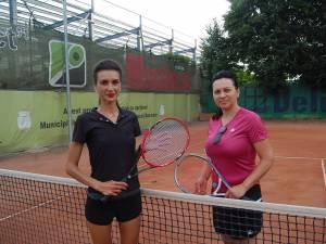 Ioana Filote şi Alina Popovici Dumbravă s-au întâlnit în întrecerea feminină