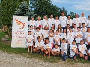 "30 de copii cu deficiențe de auz și vorbire au participat la tabăra ""Respiro"", ediția a III-a, la Vama"