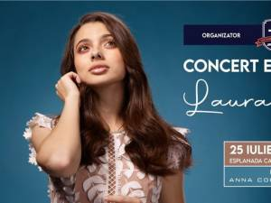 Tânăra artistă Laura Bretan va concerta pentru prima dată la Suceava