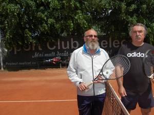Vasile Hândrescu şi Constantin Bălan s-au întâlnit în cadrul Categoriei Veterani