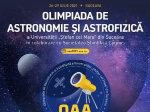 """Peste 100 de elevi din 16 județe vor participa la Olimpiada de Astronomie și Astrofizică a Universității """"Ștefan cel Mare"""" din Suceava"""