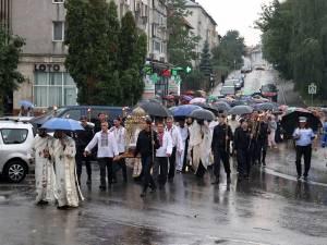 Procesiune religioasă de Sf. Ilie la Fălticeni
