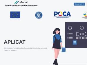 Primul proiect de digitalizare a serviciilor din Primăria Suceava a fost finalizat