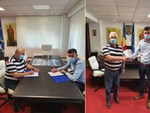Ion Lungu a semnat contractul care stă la baza realizării unui sistem integrat de management al traficului în municipiul Suceava