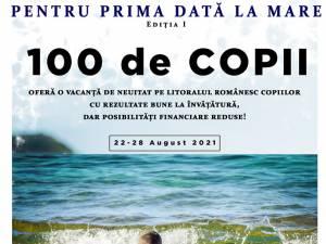 """Proiectul caritabil """"Pentru prima dată la mare"""", lansat de Arhiepiscopia Sucevei"""