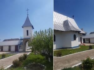Credincioși așteptați la slujba de sfințire a Bisericii Fetești și a noului complex ridicat în jur
