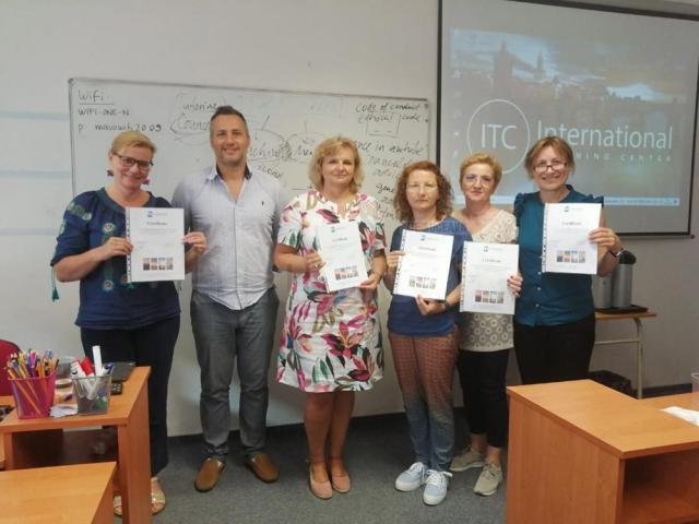 Educație și formare europeană pentru profesori ai Colegiului de Industrie Alimentară Suceava
