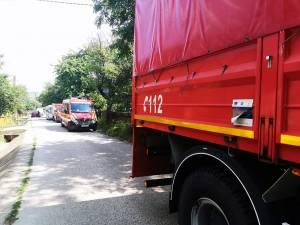 Pompierii militari au recuperat cadavrul din râul Siret