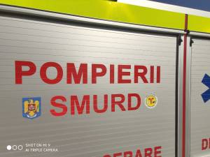 Pompierii au răspuns la un apel de urgență