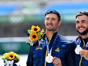 Marius Cozmiuc si Ciprian Tudosa au devenit vicecampioni olimpici