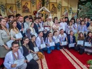 Premierea câștigătorilor concursurilor Putna 150 - foto Basilica.ro