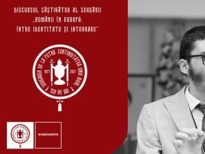 """Marele Premiu pentru cel mai bun discurs a fost obținut de elevul Cosmin Țugui, de la Colegiul ,,Eudoxiu Hurmuzachi"""" Rădăuți"""