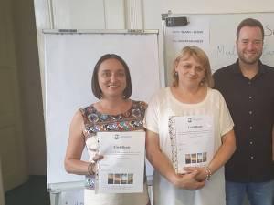 Profesori ai Colegiului de Industrie Alimentară Suceava la un curs de formare la Praga