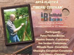 """Tablourile realizate de artiști în Tabăra de artă plastică """"Tiberiu Cosovan"""", expuse la Galeria de Artă """"Zamca"""""""