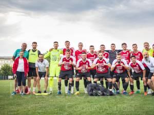 Fotbalistii de la Somuz sunt gata pentru duelul cu FC Voluntari. Foto Codrin Anton (Fotosport)