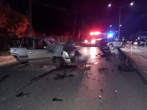 Trei persoane au ajuns la spital, după un accident rutier la Fălticeni