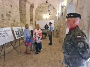 Expoziția despre alianța militară romano-polonă