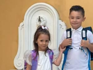 Deputatul Vlad Popescu le-a tranmsmis copiilor un mesaj de încurajare la începerea noului an şcolar