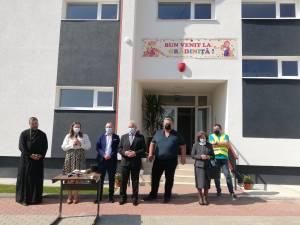 Noua gradinita din Burdujeni Sat a fost inaugurata in prima zi de scoala