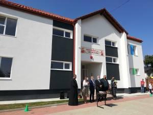 Gradinita din Burdujeni-Sat a fost construita de firma Conbucovina