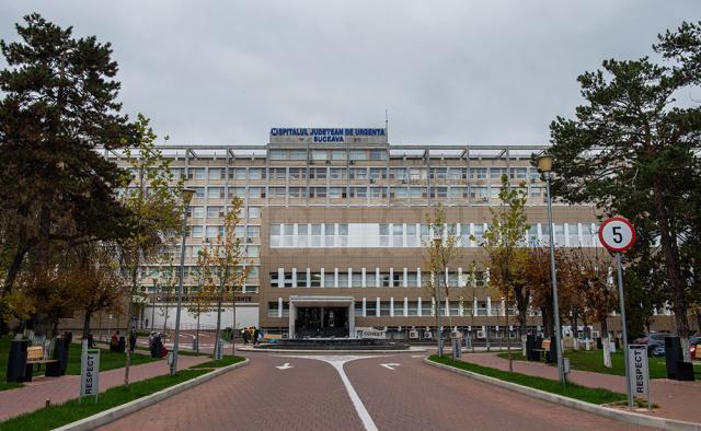 Crește numărul de pacienți cu noul coronavirus din Spitalul Județean Suceava