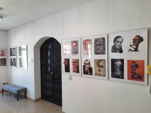 """Expoziţia Internaţională de Caricatură – Portret """"140 Bacovia"""", la Muzeul de Istorie"""