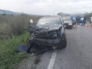 Trei răniţi după un accident la ieșire din Suceava spre Pătrauți