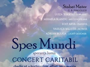 "Concertul caritabil ""Spes Mundi – Speranța lumii"", la Biserica Romano-Catolică ""Sf. Ioan Nepomuk"" Suceava"