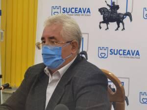 """Primarul Sucevei, îngrijorat de faptul că municipiul va intra curând în """"scenariul roșu"""""""