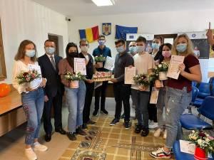 IȘJ Suceava i-a premiat pe elevii suceveni de 10 la evaluarea națională și la bacalaureat