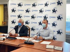 Comandament de Investiții la sediul Primăriei Suceava, pentru lucrările cu finanțare din fonduri proprii