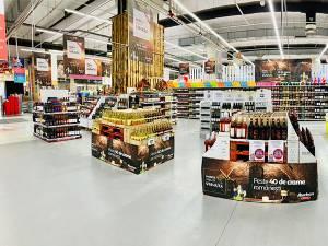 Târgul de Vinuri Auchan, cu peste 330 de sortimente de vinuri românești și moldovenești