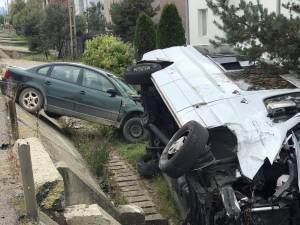 Accident spectaculos la Poiana Stampei