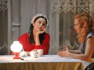 """Spectacolul Cântăreața cheală, regizat de Alex Bogdan, producție a Teatrului """"Matei Vișniec"""" Suceava"""