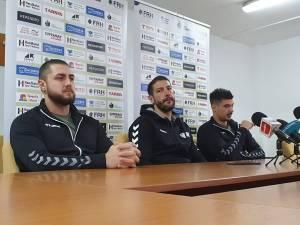 Leonard Ştefan, Bogdan Șoldănescu şi Alex Bologa au prefațat duelul cu CSM Vaslui