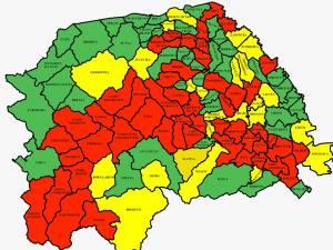 """49 din cele 114 localități din județul Suceava sunt în scenariul """"roșu"""""""