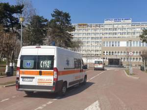 """Din totalul celor 643 pacienți internați în Spitalul Județean de Urgență """"Sf. Ioan cel Nou"""" Suceava, 250 pacienți sunt diagnosticați cu Covid-19"""