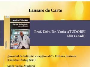 Lansare de carte prof.univ.dr. Vania Atudorei
