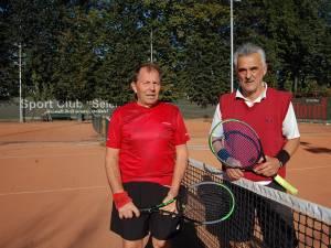 Mihai Vieriu şi Gigi Berariu au disputat finala Categoriei Veterani +65