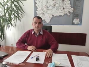 Doctorul Sorin Mihai Voloșeniuc, directorul executiv al Direcției Sanitar Veterinare și pentru Siguranța Alimentelor (DSVSA) Suceava