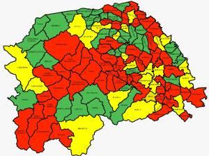 Incidența cazurilor de Covid în județul Suceava