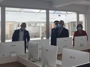 """Centrul de Documentare-Informare de la Colegiul Național """"Petru Rareș"""", recent inaugurat"""