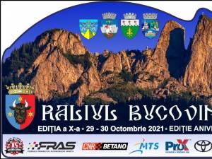 Raliul Bucovinei – ediție aniversară, la finele lunii octombrie 2021